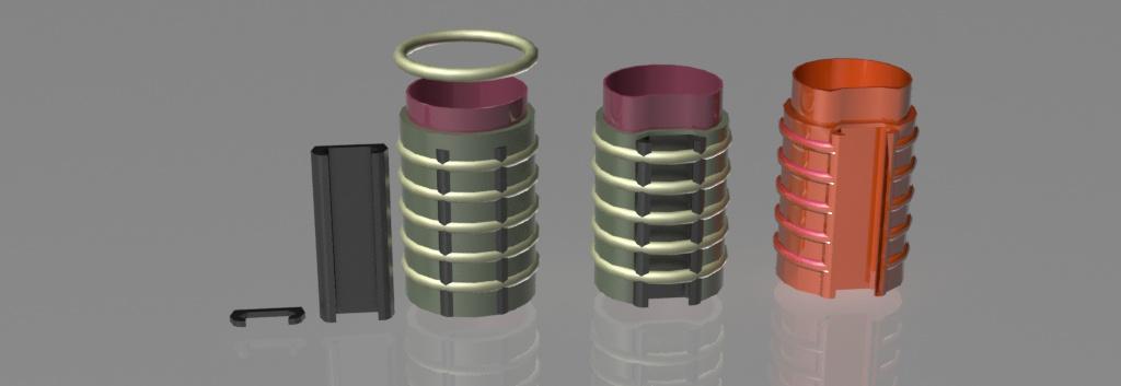 3D Printed GrenadeLauncher