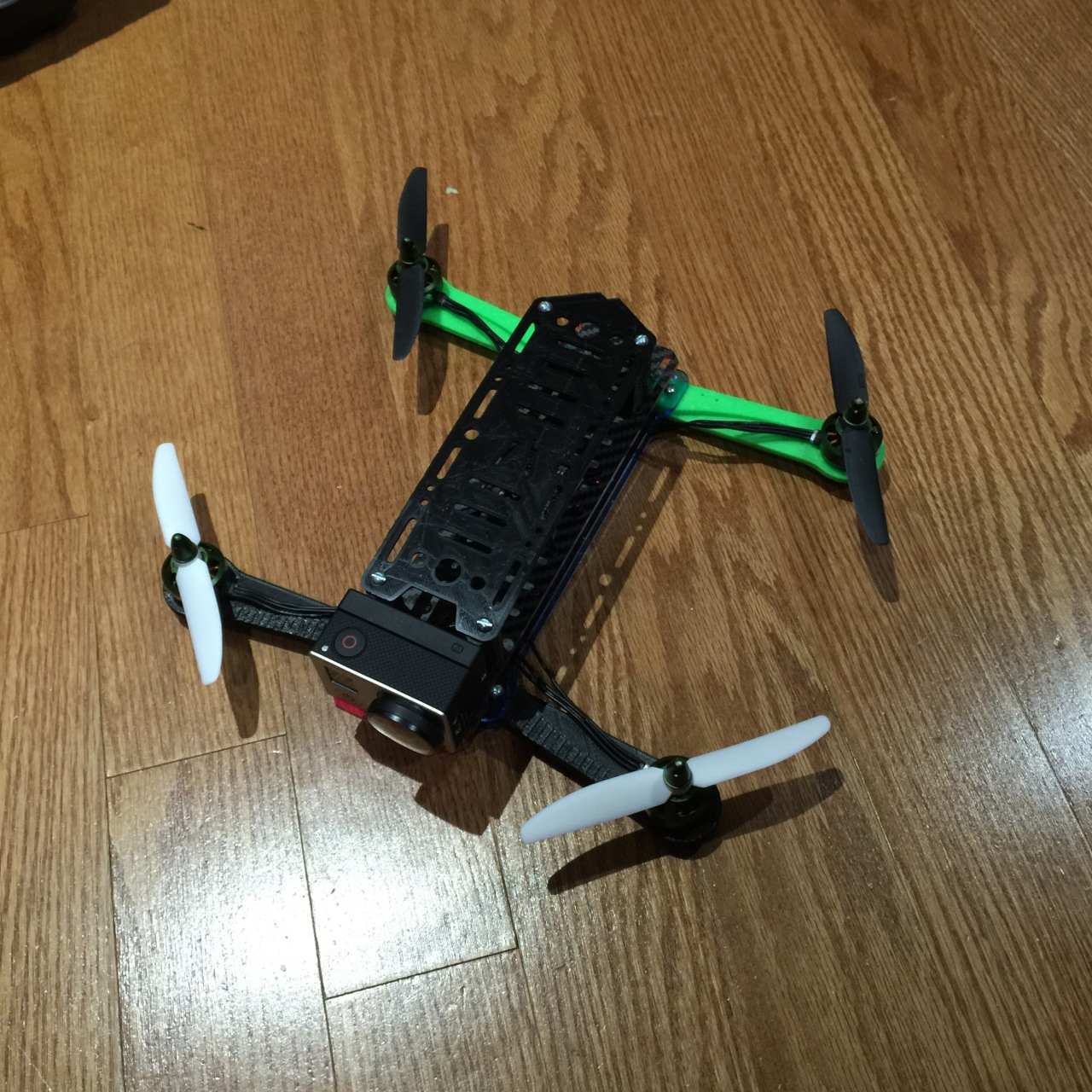 Project : Mini Racer type Quadcopter Part 1