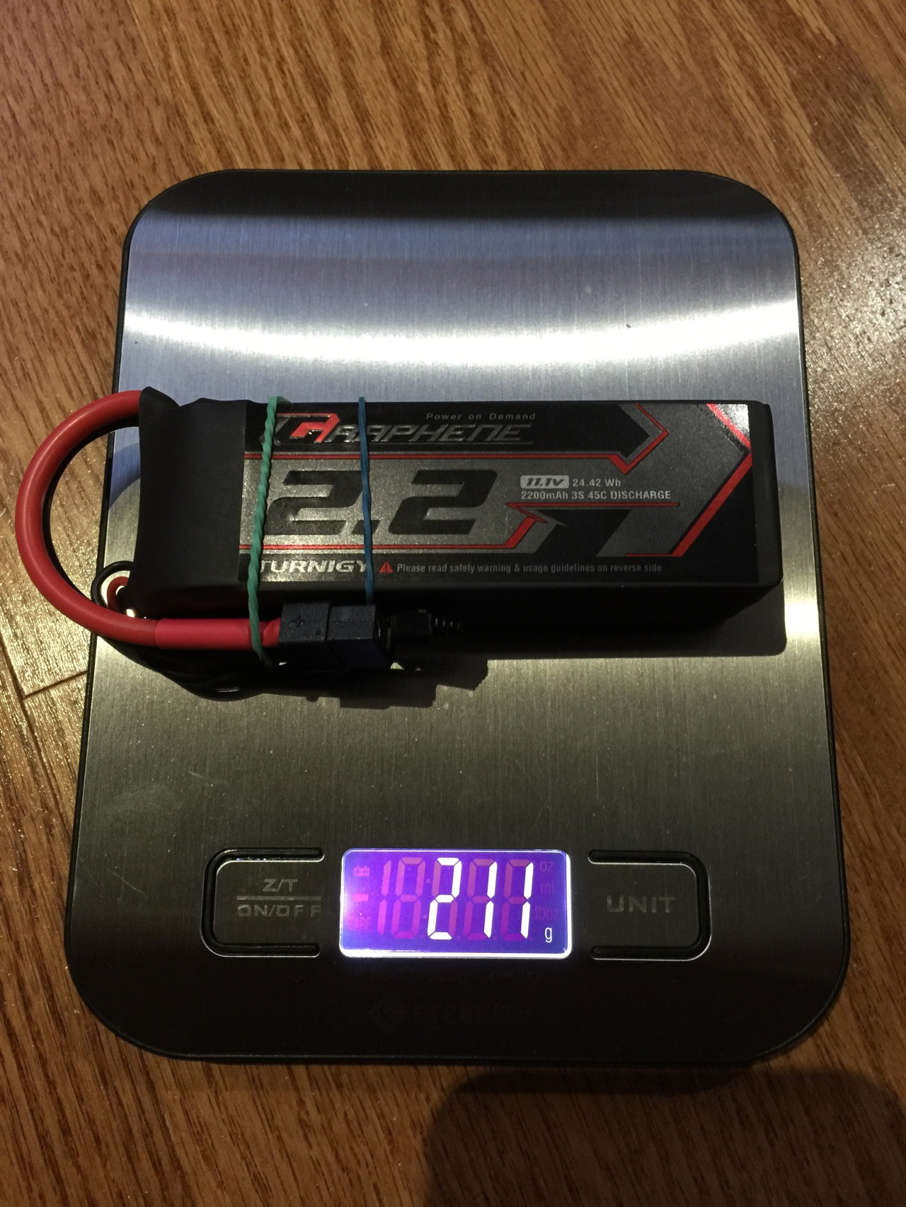 LiPo battery observations