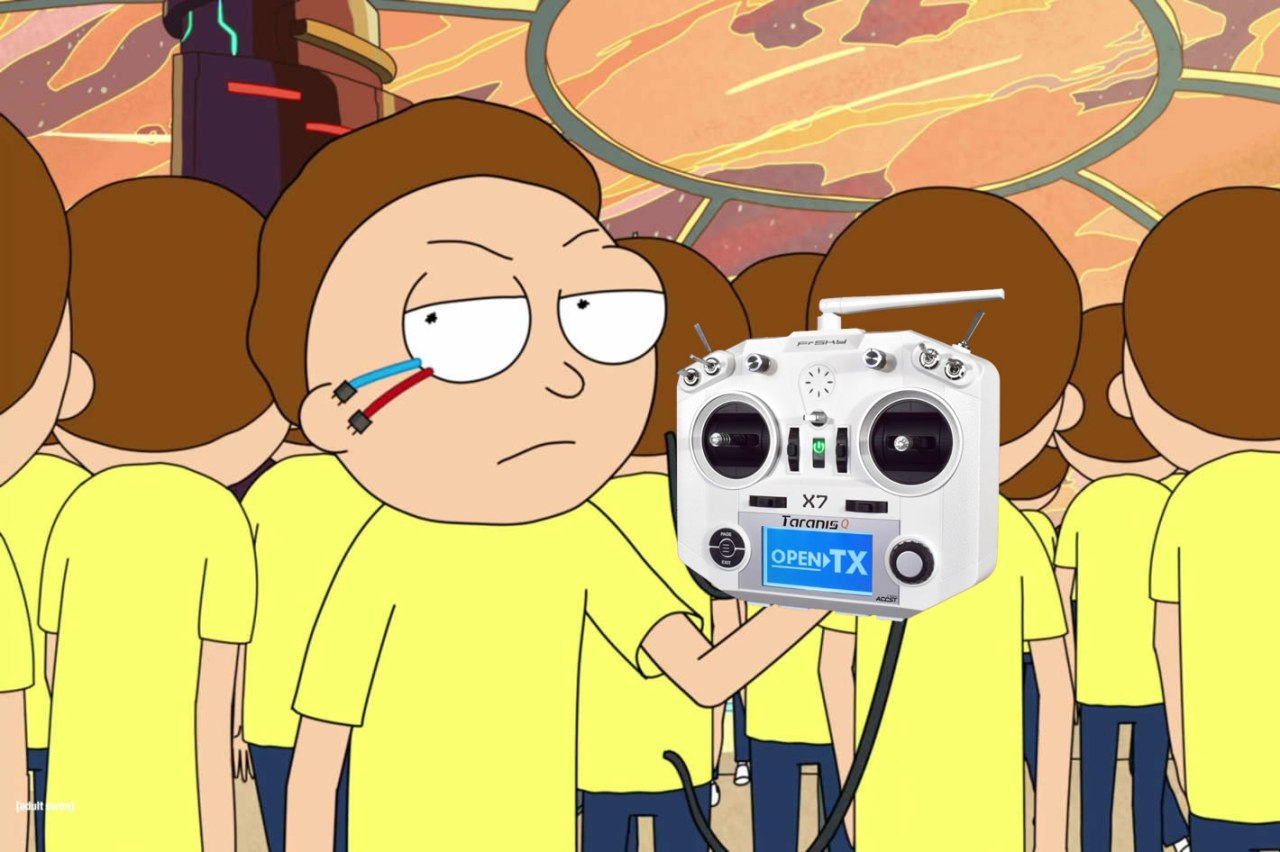 Rick and Morty Soundpack for Taranis QX7
